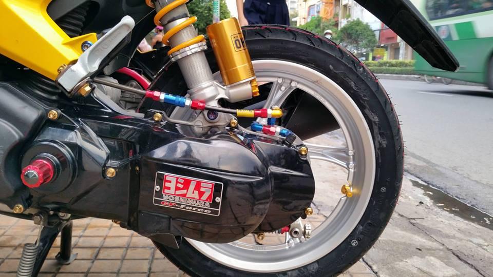 Yamaha mio 125i ao thai tren con xe Viet - 3