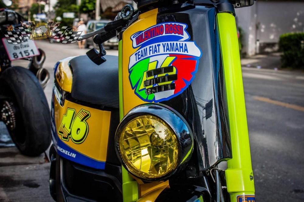 Yamaha Vox son AirBrush noi bat phong cach Rossi - 2
