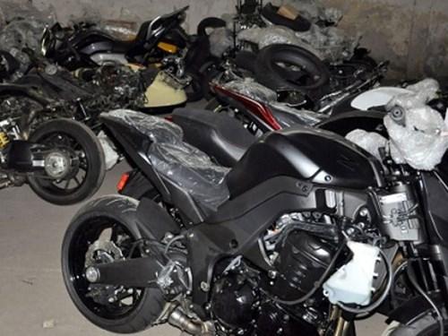 52 xe mo to PKL Honda nhap lau bi bat giu tai Hai Phong