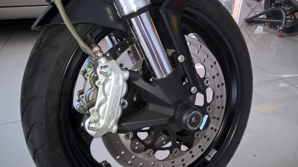 Ban Ducati 795 black 2014 - 7