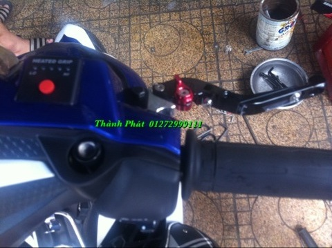 Bao Tay Gu Tay Thang Kieu Cum tang toc cho xe PKL va xe nho Barracuda DPM RIZOMA JapanSpeed - 9