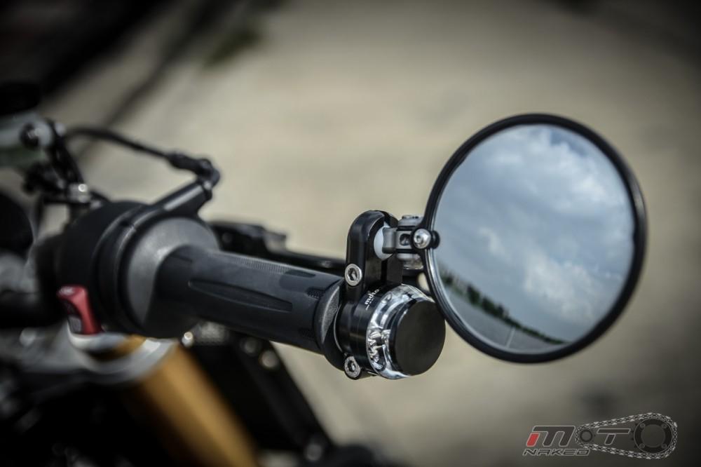 BMW R Nine T voi phien ban do Tracker chat lu - 18