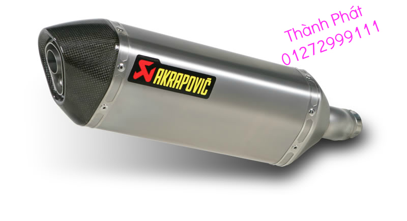 Bo AKAPOVIC cho SH150 SH300 CBR150 FZ16 R15 cac loai xe PKL CB1000 CBR1000 Z1000 ZX10R R6 - 28