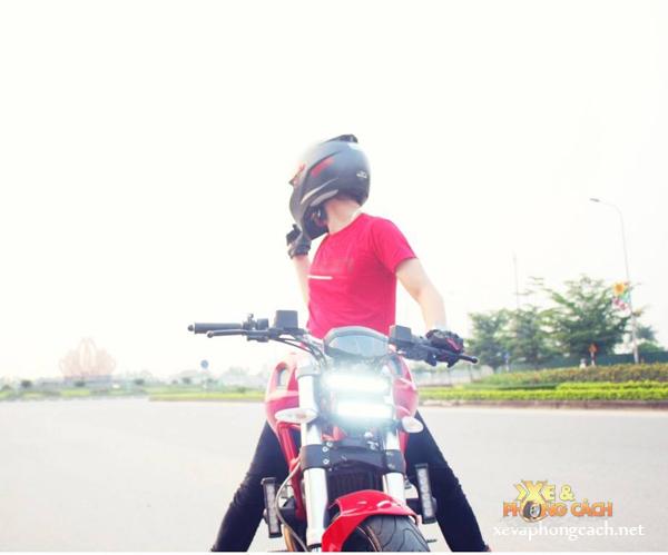 Cam nhan cua biker 8X ve nguoi tinh Ducati Monster 795 - 4