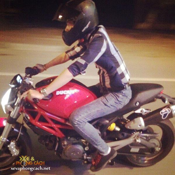 Cam nhan cua biker 8X ve nguoi tinh Ducati Monster 795 - 5