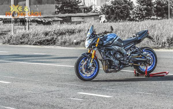 Cam nhan ve chiec Yamaha FZ8 do khung voi chi phi 250 trieu cua biker Sai Gon - 3