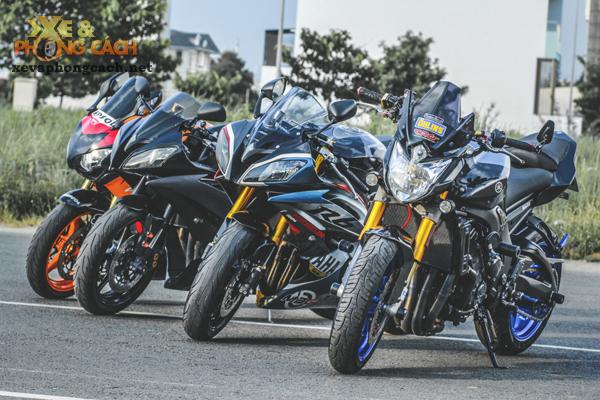Cam nhan ve chiec Yamaha FZ8 do khung voi chi phi 250 trieu cua biker Sai Gon - 6