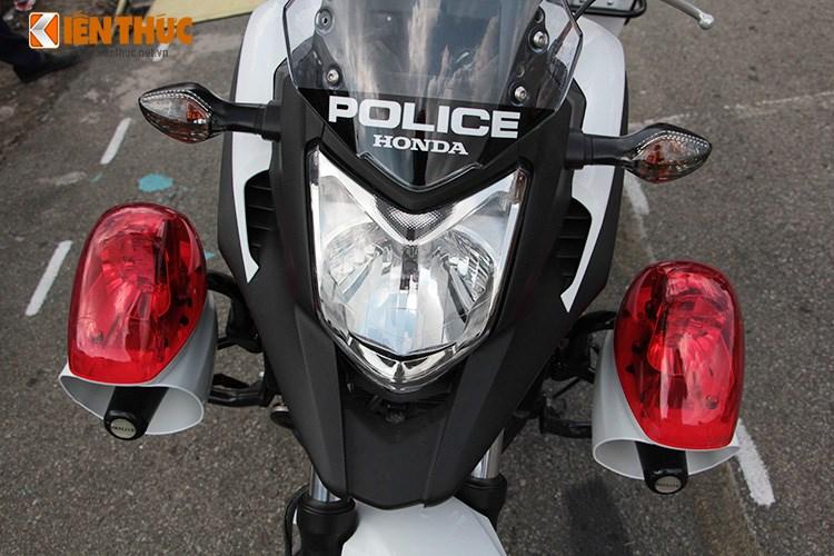 Can canh Honda NC750 phien ban Police chinh hang tai Viet Nam - 2