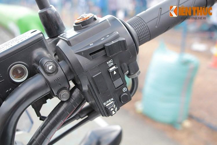 Can canh Honda NC750 phien ban Police chinh hang tai Viet Nam - 5