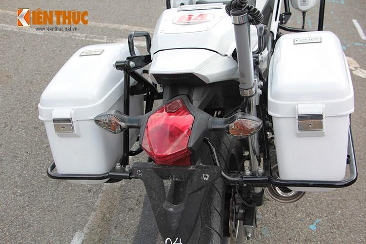 Can canh Honda NC750 phien ban Police chinh hang tai Viet Nam - 9