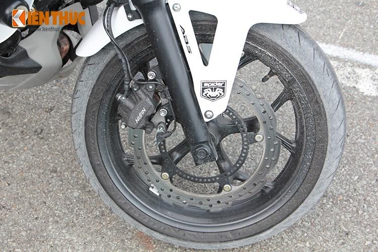 Can canh Honda NC750 phien ban Police chinh hang tai Viet Nam - 10