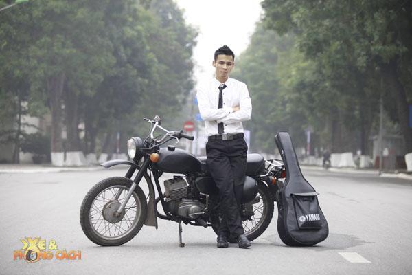 Chang trai 9X cung cau chuyen chiec xe con tay Minsk - 5