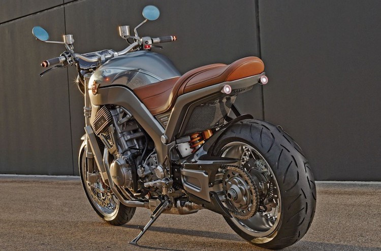 Chien binh giap sat Horex VR6 Silver Edition - 2