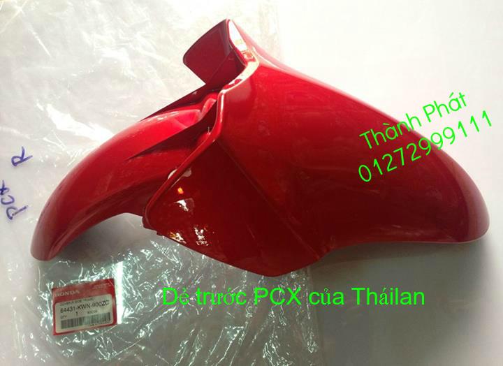 Chuyen Phu tung Zin Honda PCX Thailan va VN doi 2011 doi 2014 day du het do mu va do may Gia tot u