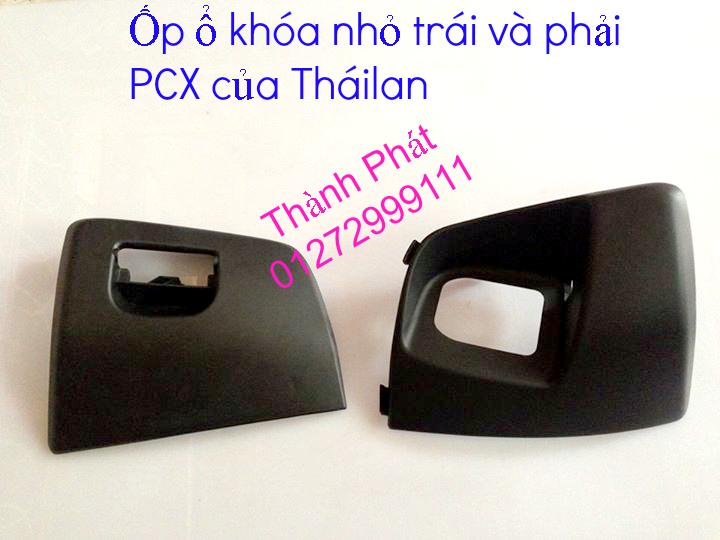 Chuyen Phu tung Zin Honda PCX Thailan va VN doi 2011 doi 2014 day du het do mu va do may Gia tot u - 13
