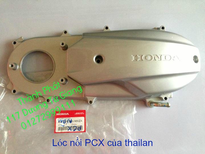 Chuyen Phu tung Zin Honda PCX Thailan va VN doi 2011 doi 2014 day du het do mu va do may Gia tot u - 19