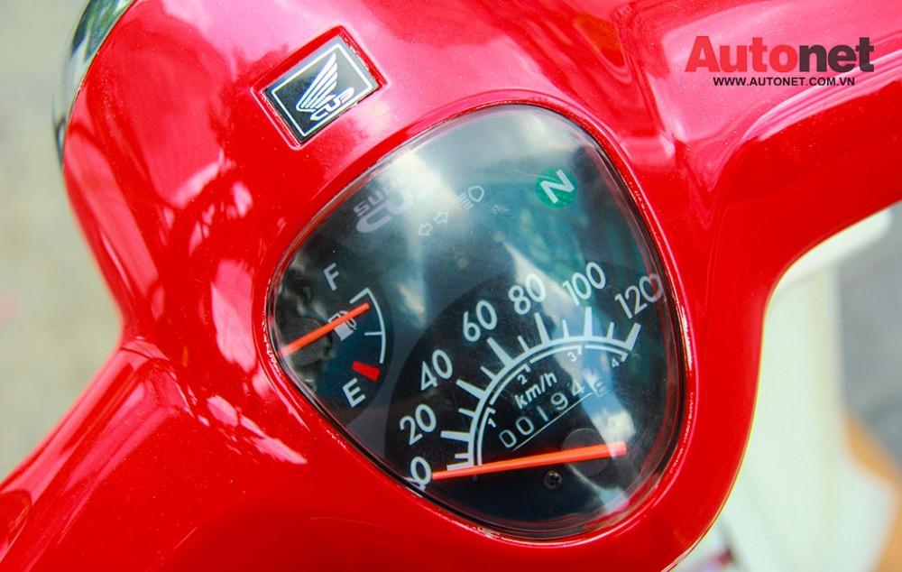 Daelim Super Cub 50cc mau xe danh cho gioi tre - 16