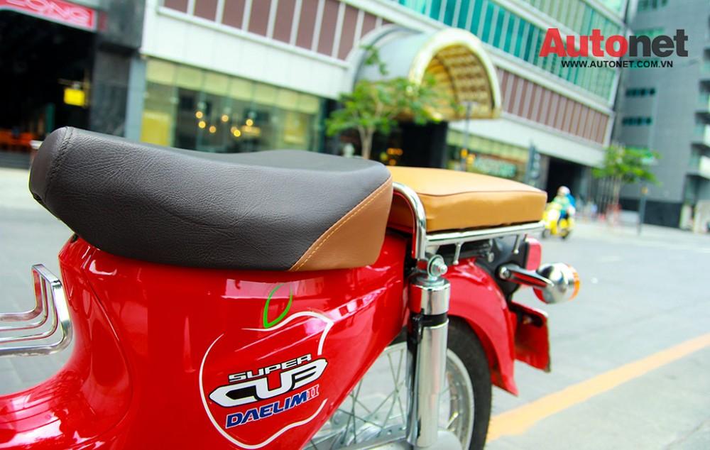 Daelim Super Cub 50cc mau xe danh cho gioi tre - 17