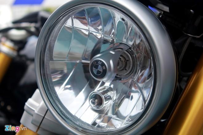 Dan moto BMW R NineT hoi tu ve Vietnam Motorbike Festival 2015 - 10