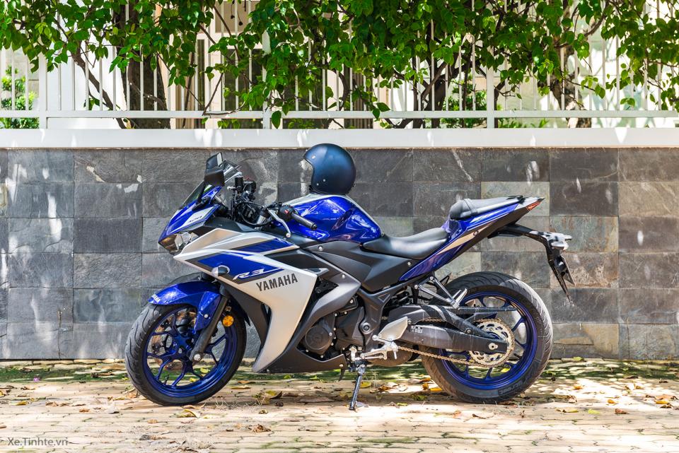 Danh gia Yamaha R3 chay thanh pho tai Viet Nam