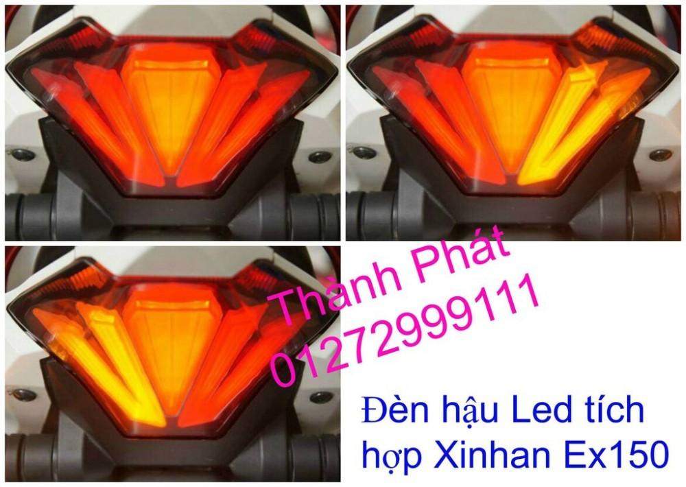Do choi Exciter 150 tu A Z Po do Chan bun sau kieng kieu Bao tay Tay thang Xinhan kieu S - 21