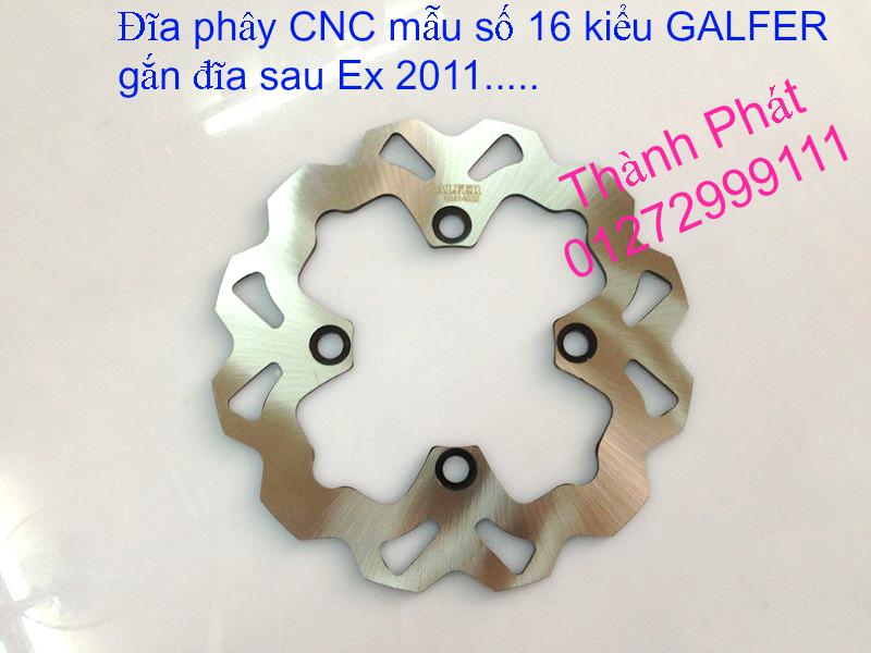 Dia kieu Thai dia Phay CNC YA Z CBR Biker Galfer ARASHI MegaPro Malossi Breaking NCY Ap - 13