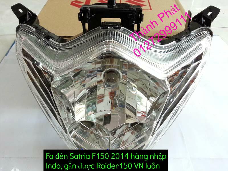 Do choi cho Raider 150 VN Satria F150 tu AZ Up 992015 - 3