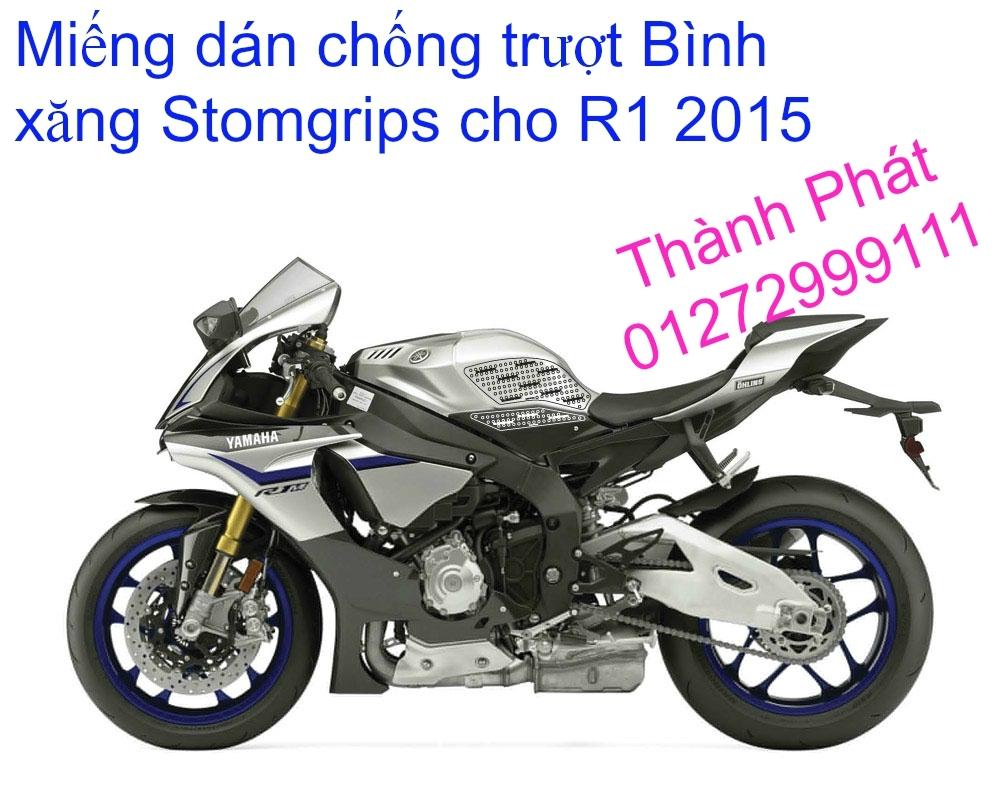 Do choi cho Yamaha R1 2015 - 17