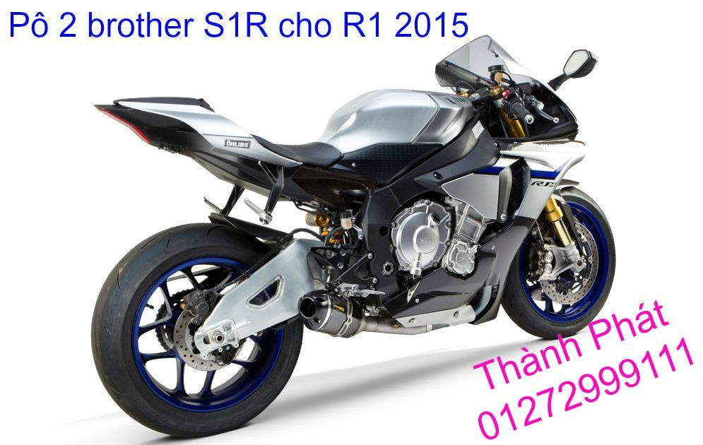 Po Twobros Hang chinh hang cho Ninja 300 R3 MSX125 Z800 Z1000 CBR1000 - 22