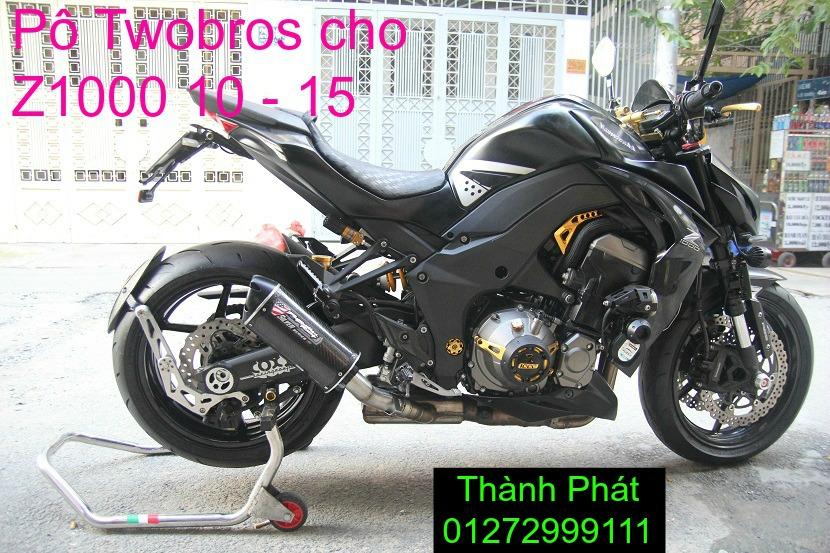 Po Twobros Hang chinh hang cho Ninja 300 R3 MSX125 Z800 Z1000 CBR1000 - 19
