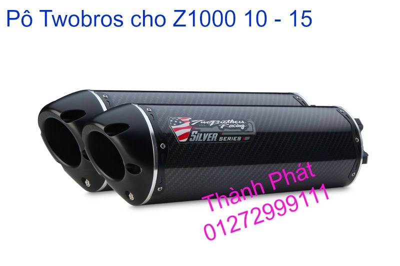 Po Twobros Hang chinh hang cho Ninja 300 R3 MSX125 Z800 Z1000 CBR1000 - 18