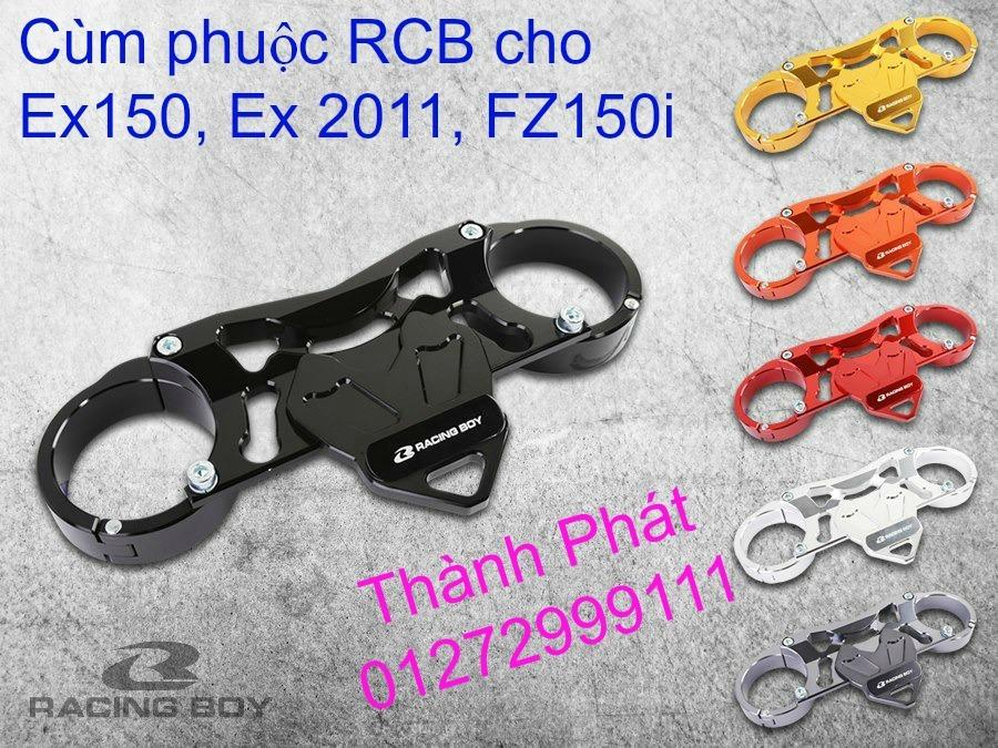 Do choi Exciter 150 tu A Z Po do Chan bun sau kieng kieu Bao tay Tay thang Xinhan kieu S - 3