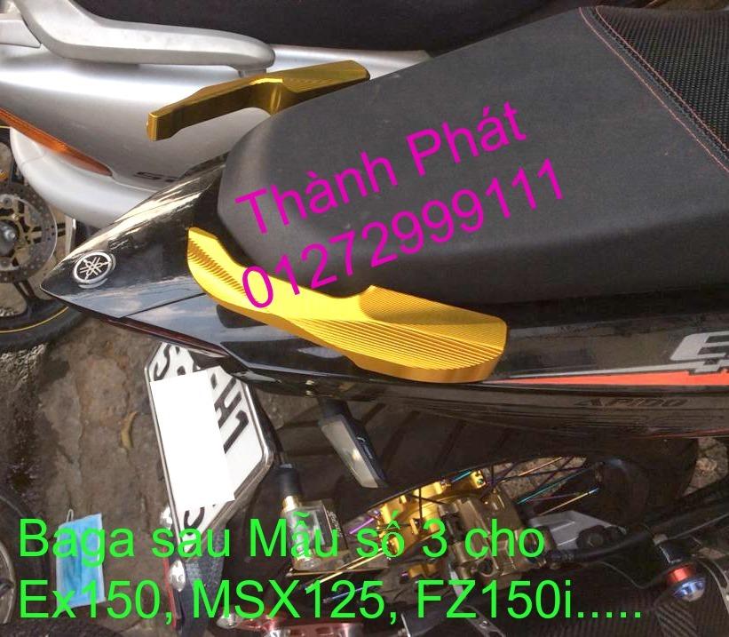 Do choi Exciter 150 tu A Z Po do Chan bun sau kieng kieu Bao tay Tay thang Xinhan kieu S - 9
