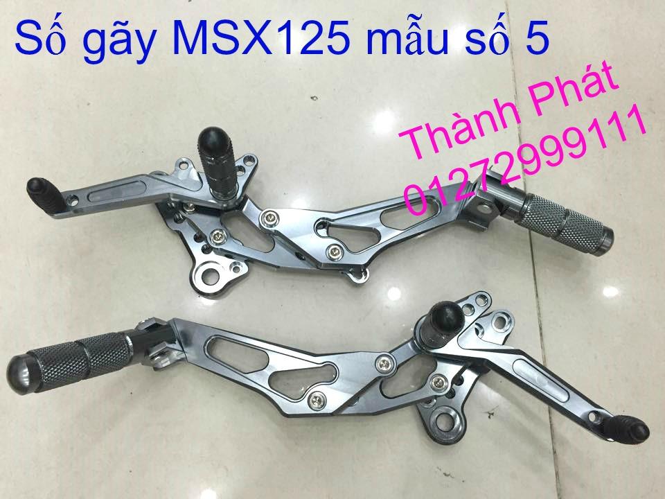 Do choi Honda MSX 125 tu A Z Po do Kinh gio Mo cay Chan bun sau de truoc Ducati Khung suo - 9