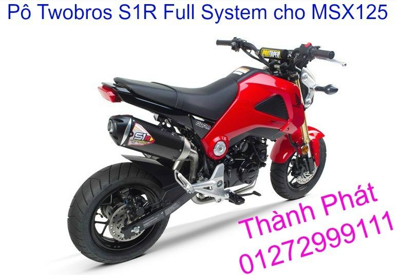 Po Twobros Hang chinh hang cho Ninja 300 R3 MSX125 Z800 Z1000 CBR1000 - 10