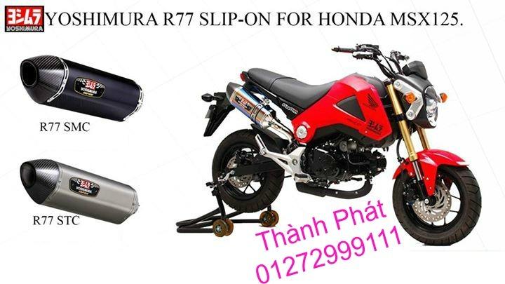 Do choi Honda MSX 125 tu A Z Po do Kinh gio Mo cay Chan bun sau de truoc Ducati Khung suo - 4