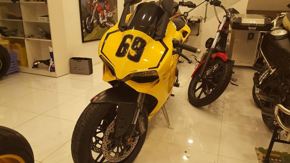 Ducati 899 Panigale vang sac so - 8