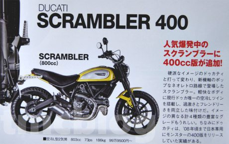 Ducati Scrambler 400 voi gia 140 trieu tai Viet Nam