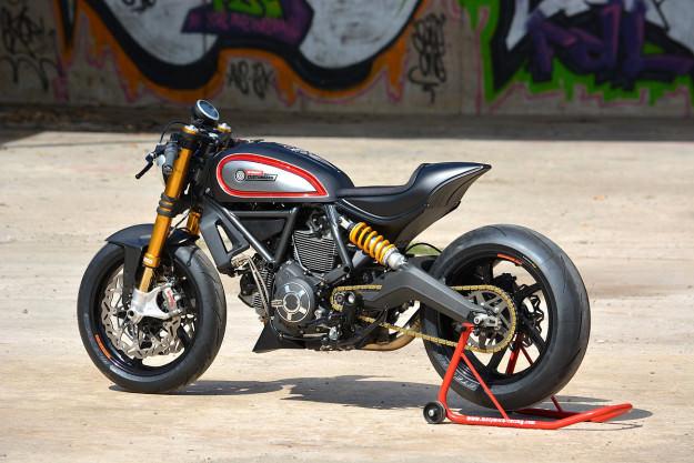 Ducati Scrambler phien ban do dac biet cua WalzWerk Racing - 2