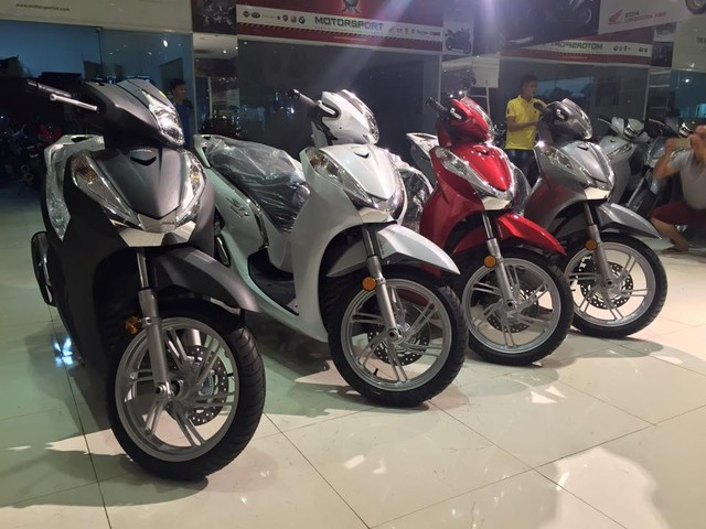 Hang loat Honda SH300i 2016 ve Viet Nam voi gia 325 trieu dong - 5