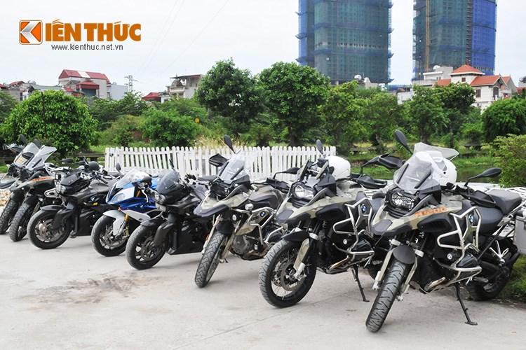 Hang tram xe mo to PKL hoi tu mung sinh nhat CLB mo to Ha Noi - 7