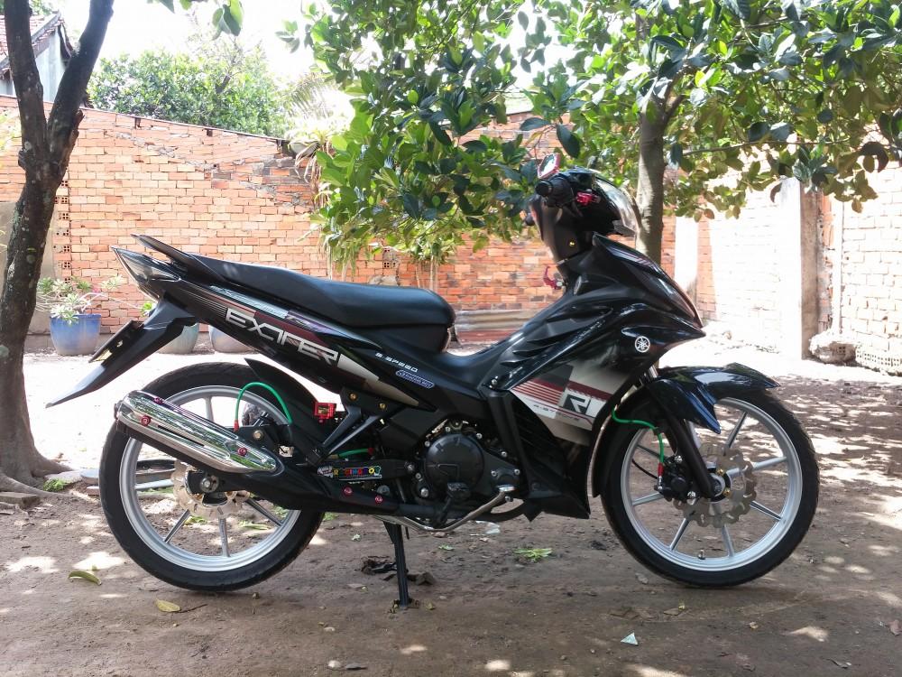 Hoc Mon TP HCM Can ban xe Exciter R con tu dong 2011 do den - 2