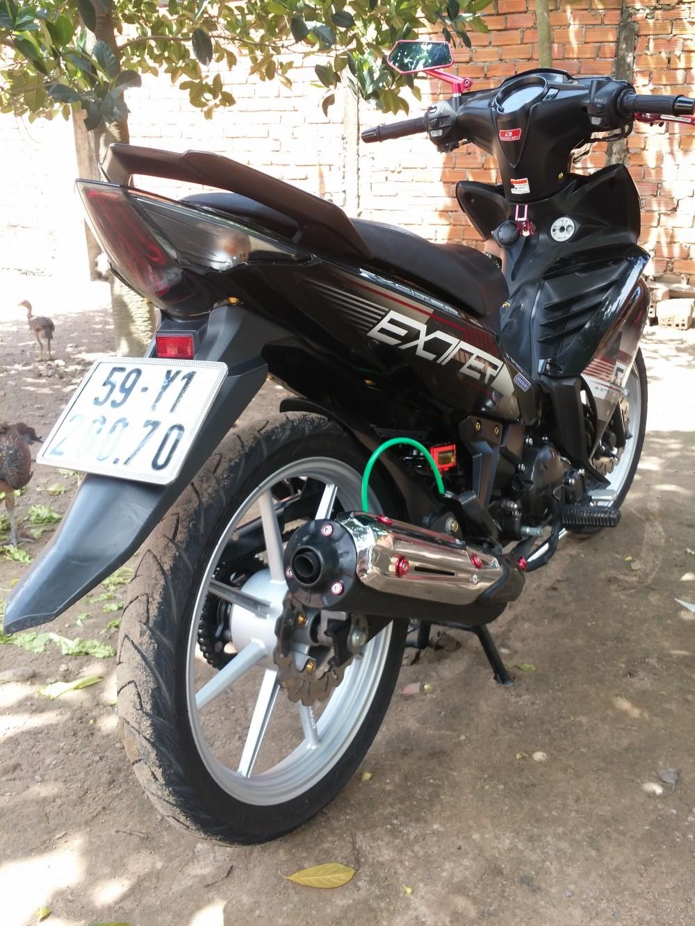 Hoc Mon TP HCM Can ban xe Exciter R con tu dong 2011 do den - 3
