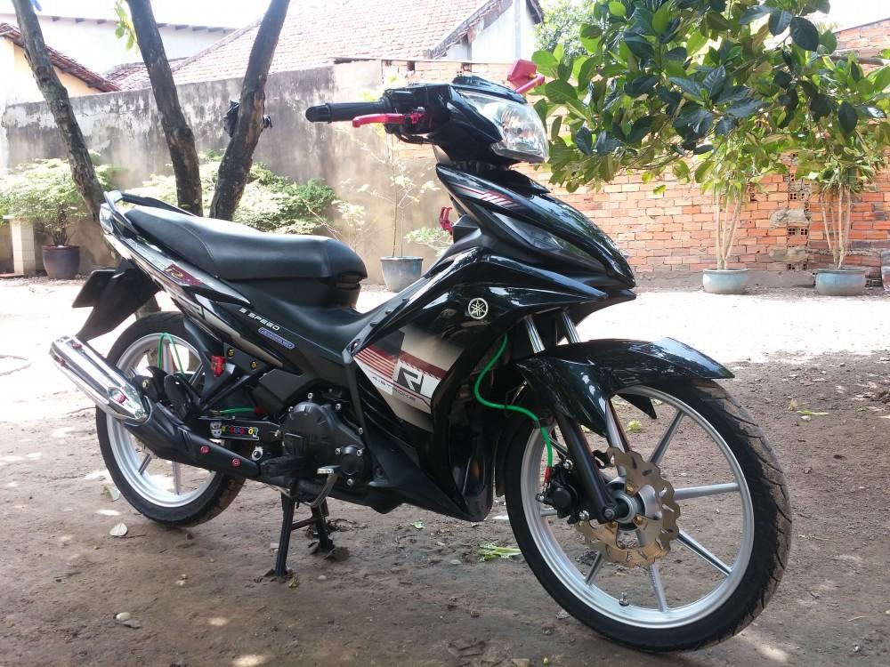 Hoc Mon TP HCM Can ban xe Exciter R con tu dong 2011 do den - 5
