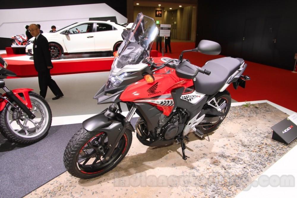 Honda 400X 2016 mau adventure an tuong tai Tokyo Motor Show 2015 - 3