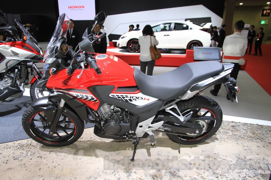 Honda 400X 2016 mau adventure an tuong tai Tokyo Motor Show 2015 - 5