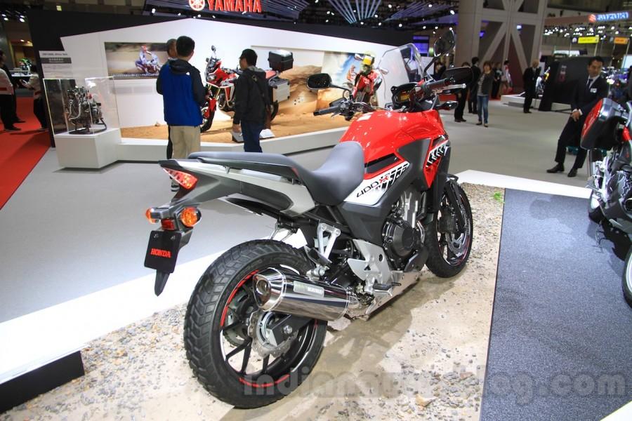 Honda 400X 2016 mau adventure an tuong tai Tokyo Motor Show 2015 - 8