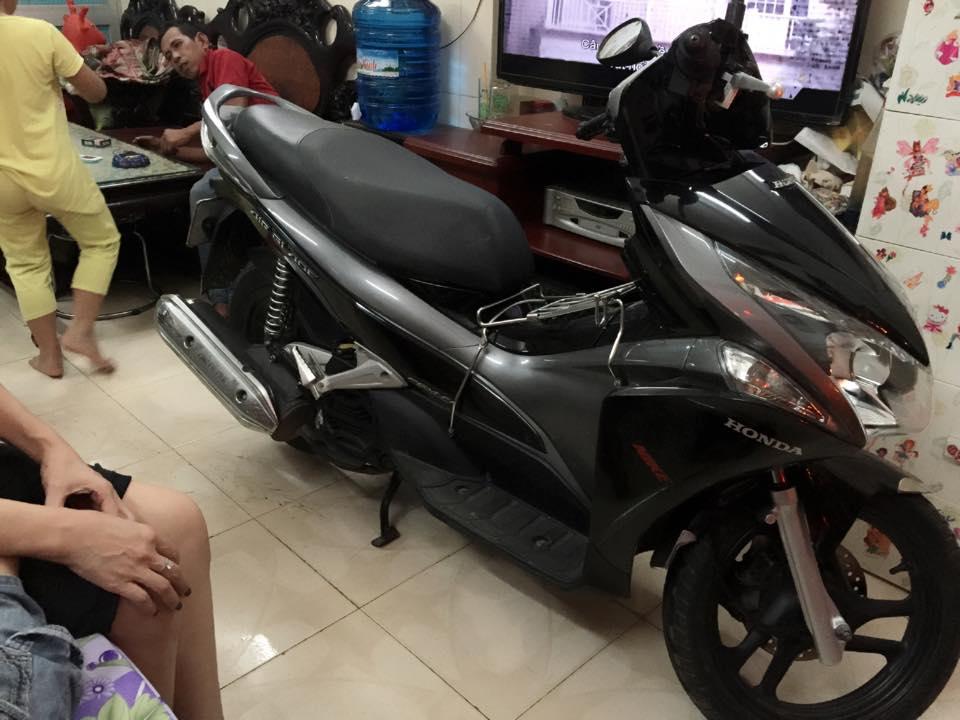 Honda airblade fi 110 dau bo den xam chinh chu - 2