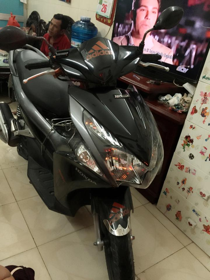 Honda airblade fi 110 dau bo den xam chinh chu - 3