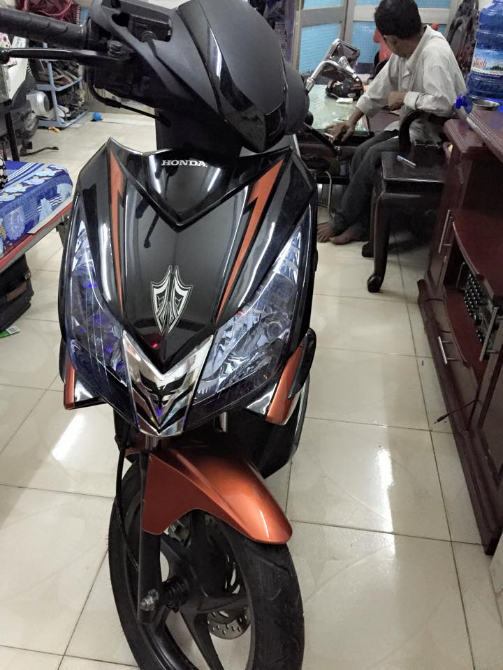 Honda airblade fi thai den cam con dan keo - 6